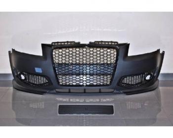 Paragolpes Delantero Audi A3 05-08 Look RS3 Black
